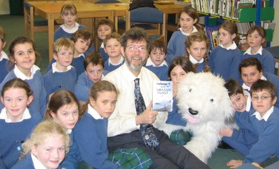 Image of Peter visiting Clayesmore Preparatory School, Blandford, Dorset