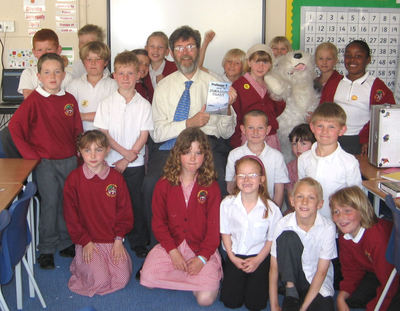 Image of Peter visiting Lulworth & Winfrith First School, Dorset